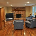 brazilian walnut family room